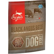 Orijen Black Angus Beef Singles Freeze-Dried Dog Treats, 3.5-oz bag