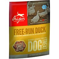 Orijen Free Run Duck Singles Freeze-Dried Dog Treats, 3.5-oz bag