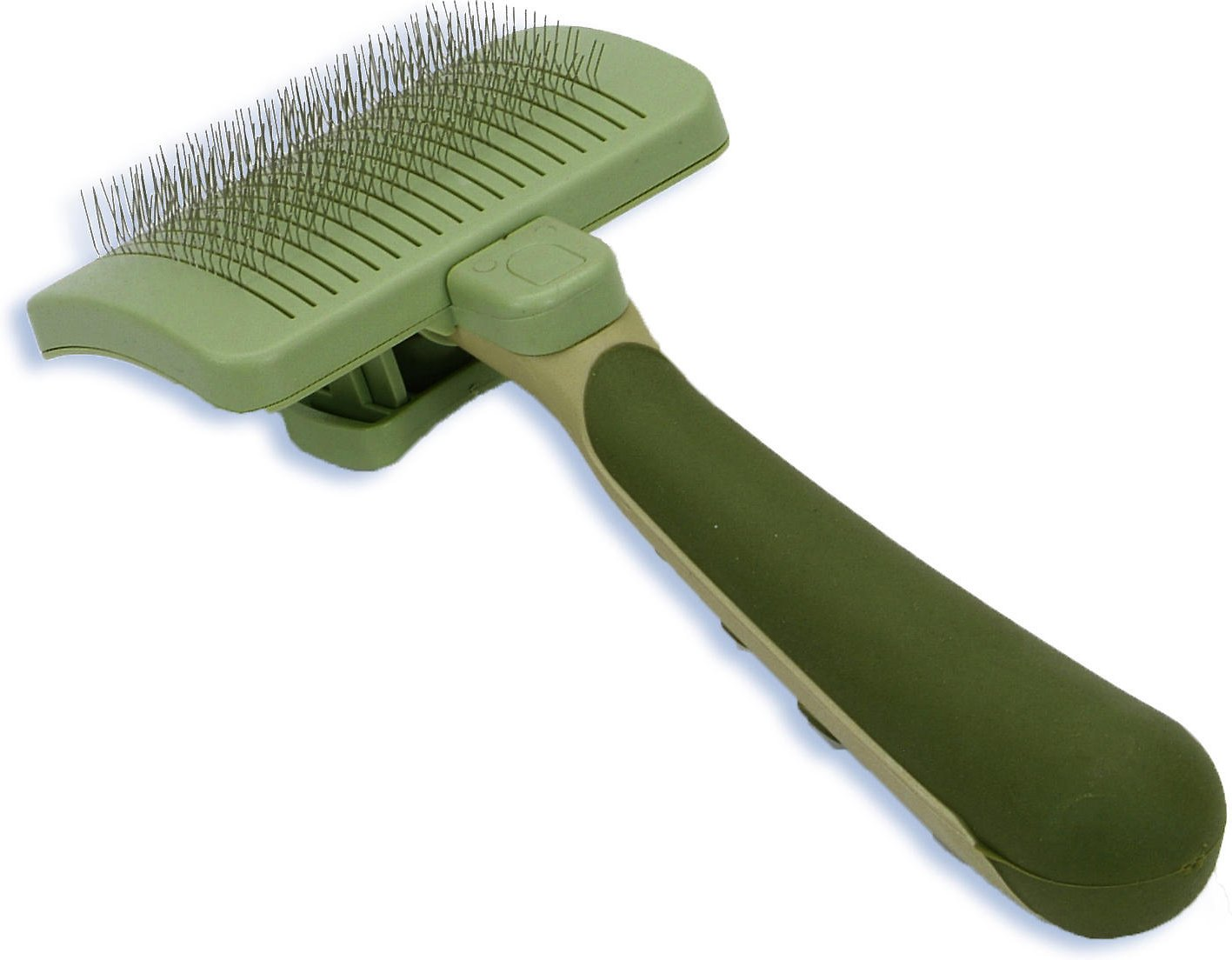 Safari Self Cleaning Slicker Brush For Dogs Large Chewy Com