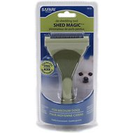 Safari Shed Magic De-Shedding Tool for Dogs, Medium
