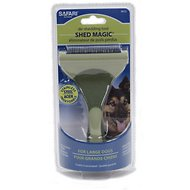 Safari Shed Magic De-Shedding Tool for Dogs, Large