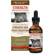 Wapiti Labs Strength Formula for Peak Condition Cat Supplement, 2-oz bottle