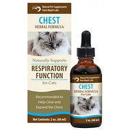 Wapiti Labs Chest Formula for Respiratory Function Cat Supplement, 2-oz bottle