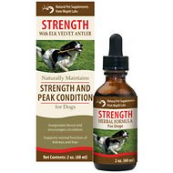 Wapiti Labs Strength Formula for Peak Condition Dog Supplement, 2-oz bottle