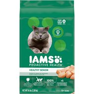 Iams ProActive Health Lively Senior Dry Cat Food, 16-lb bag