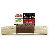 Wapiti Labs Whole Elk Antlers Dog Chews, Large/X-large