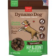 Cloud Star Dynamo Dog Hip & Joint Soft Chews Chicken Formula Dog Treats, 14-oz bag