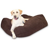 K&H Pet Products Cuddle Cube Pet Bed, Mocha, Large