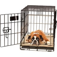 K&H Pet Products Self-Warming Pet Crate Pad, Tan, 25 x 37 in