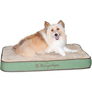 K&H Pet Products Memory Sleeper Dog Bed, Sage, Medium