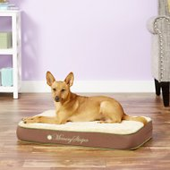 K&H Pet Products Memory Sleeper Dog Bed, Mocha, Small