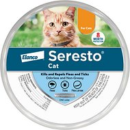 Seresto 8 Month Flea & Tick Collar for Cats & Kittens