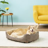 K&H Pet Products Self-Warming Lounge Sleeper Pet Bed, Brown, Medium