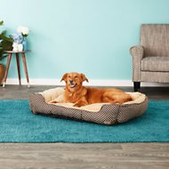 K&H Pet Products Self-Warming Lounge Sleeper Pet Bed, Brown, Large