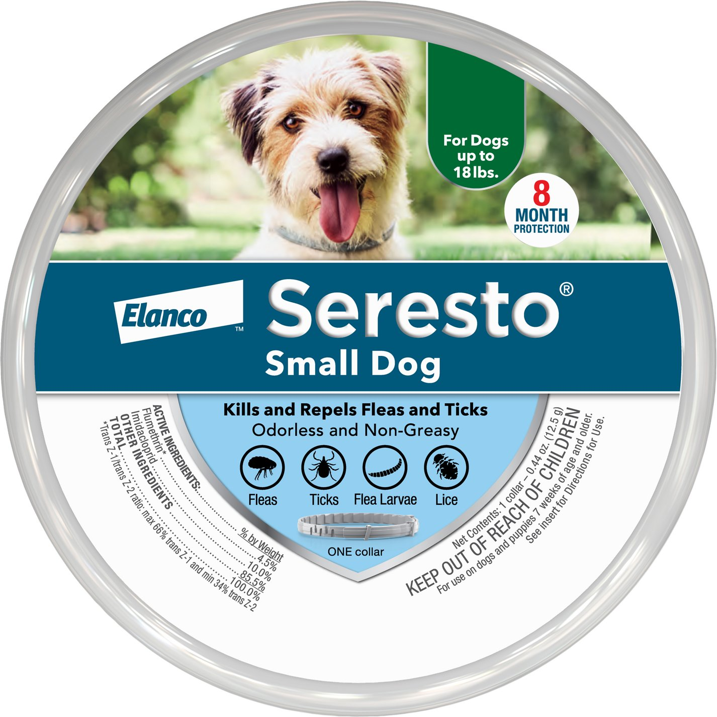 seresto small dog collar