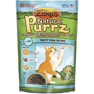 Zuke's Natural Purrz Tasty Tuna Recipe Cat Treats, 3-oz bag
