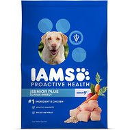 Iams ProActive Health Senior Plus Large Breed Dry Dog Food, 26.2-lb bag