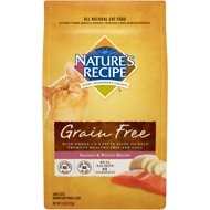 Nature's Recipe Grain-Free Salmon & Potato Recipe Dry Cat Food, 5-lb bag
