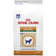 Royal Canin Veterinary Diet Mature Consult Small Dog Dry Dog Food, 7.7-lb bag