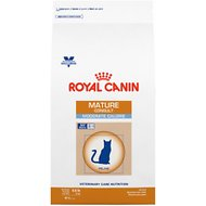 Royal Canin Veterinary Diet Mature Consult Moderate Calorie Dry Cat Food, 8.8-lb bag