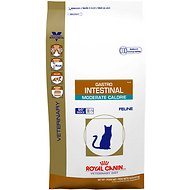 Royal Canin Veterinary Diet Gastrointestinal Moderate Calorie Dry Cat Food, 7.7-lb bag