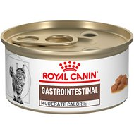 Royal Canin Veterinary Diet Gastrointestinal Moderate Calorie Canned Cat Food, 3-oz can, case of 24