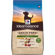 Hill's Ideal Balance Grain-Free Natural Chicken & Potato Recipe Adult Dry Dog Food, 21-lb bag