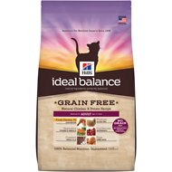 Hill's Ideal Balance Grain-Free Natural Chicken & Potato Recipe Adult Dry Cat Food, 11-lb bag