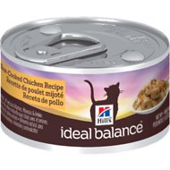 Hill's Ideal Balance Slow-Cooked Chicken Recipe Canned Cat Food, 2.9-oz, case of 24