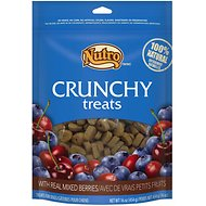Nutro Crunchy Real Mixed Berries Dog Treats, 16-oz bag