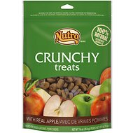 Nutro Crunchy Real Apple Dog Treats, 16-oz bag