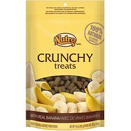 Nutro Crunchy Real Banana Dog Treats, 10-oz bag