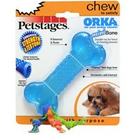 Petstages ORKA Bone Dog Chew Toy, Mini
