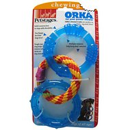 Petstages ORKA Triple Dental Links Dog Chew Toy