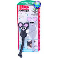 Petstages Catnip Felt Mini Mice Cat Toys, 2-pack