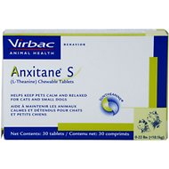 Virbac Anxitane (L-Theanine) Small Chewable Dog & Cat Tablets, 30 count