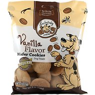 Exclusively Dog Wafer Cookies Vanilla Flavor Dog Treats, 8-oz bag