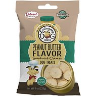 Exclusively Dog Peanut Butter Sandwich Cremes Dog Treats, 8-oz bag