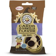 Exclusively Dog Carob & Vanilla Duplex Sandwich Cremes Dog Treats, 8-oz bag