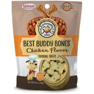 Exclusively Dog Best Buddy Bones Chicken Flavor Dog Treats, 5.5-oz bag