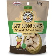 Exclusively Dog Best Buddy Bones Peanut Butter Flavor Dog Treats, 5.5-oz bag