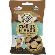 Exclusively Dog S'mores Sandwich Cremes Dog Treats, 8-oz bag