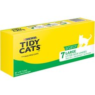 Tidy Cats Large Litter Box Liners for Multiple Cats (Box of 7)