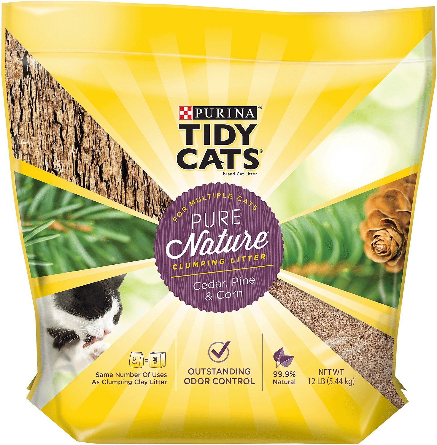 Cat Litter Tidy Cats Pure Nature