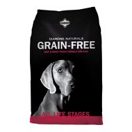 Diamond Naturals Grain-Free Beef & Sweet Potato Formula Dry Dog Food, 28-lb bag