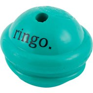 Planet Dog Orbee-Tuff Ringo with Treat Spot Dog Toy, Green