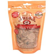Smokehouse Duck Chips Dog Treats, 4-oz bag