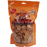 Smokehouse Small Chicken Chips Dog Treats, 16-oz bag