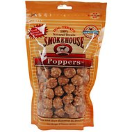 Smokehouse Chicken Poppers Dog Treats, 8-oz bag