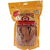 Smokehouse Chicken Breast Strips Dog Treats, 16-oz bag